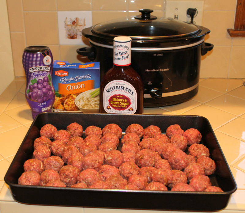 crockpot meatball recipe