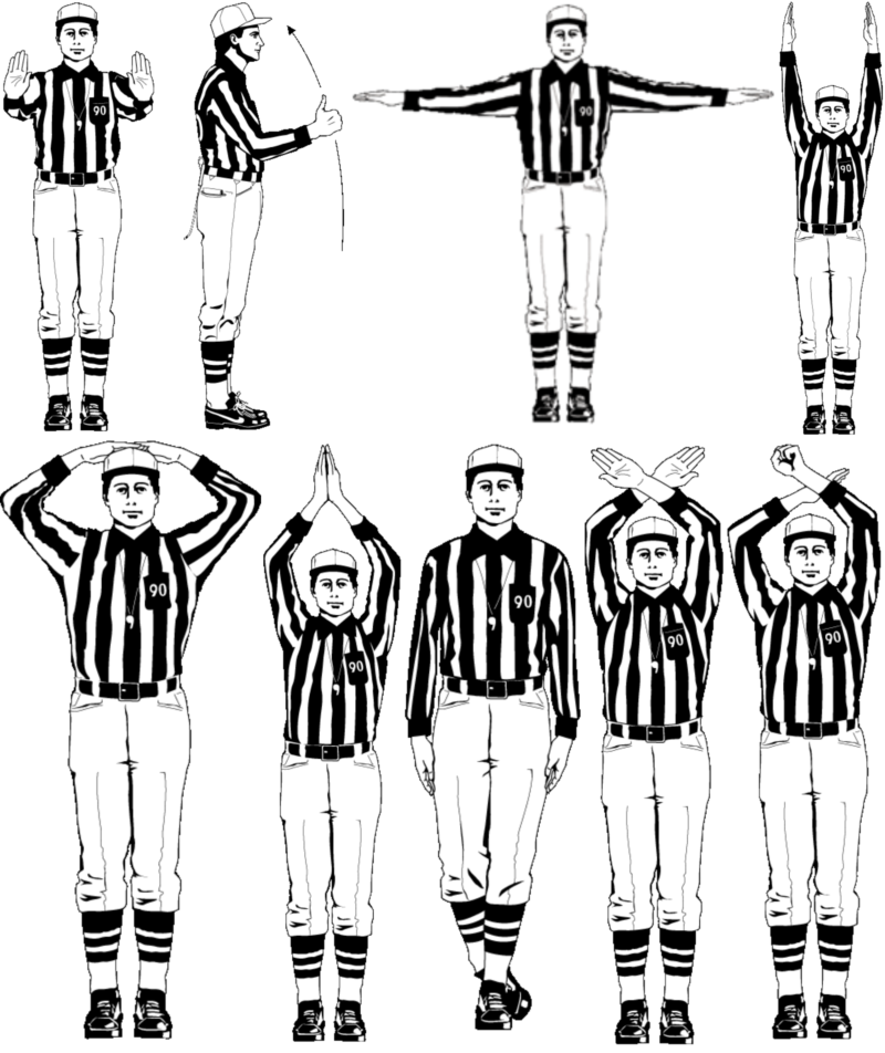 NFL Referee Signals 101