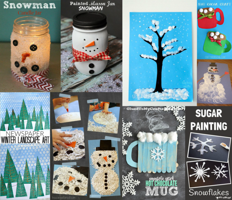 kids winter crafts
