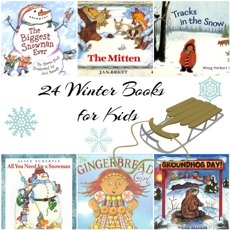 kids winter books