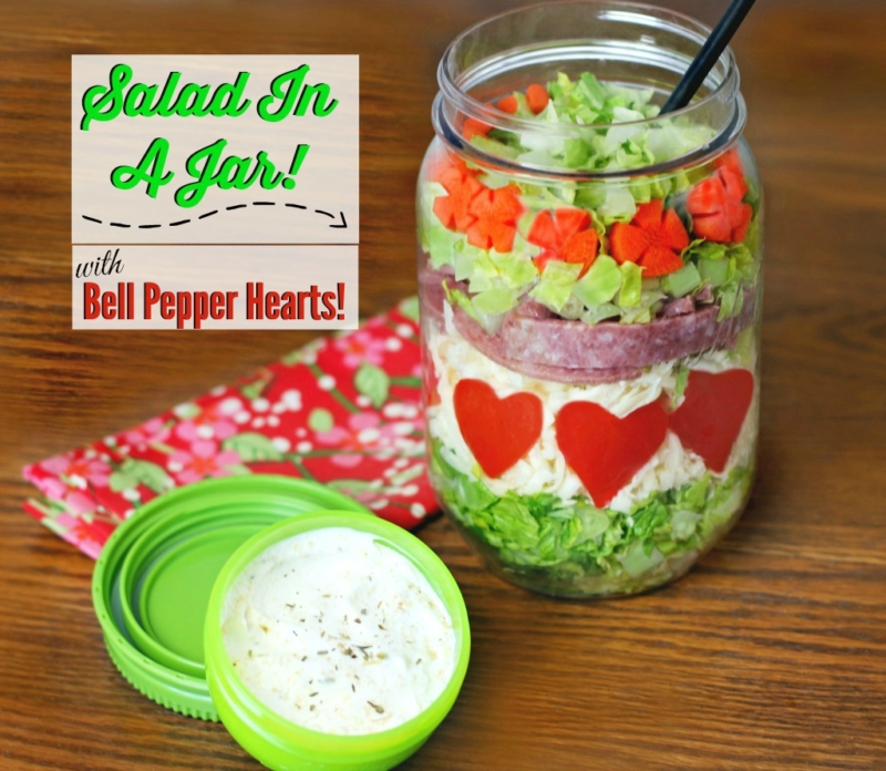 salad in a jar ideas
