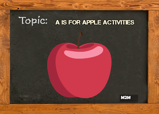 a is for apple activities