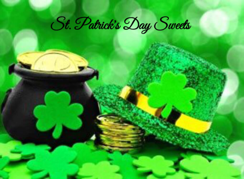 st patricks day sweets roundup