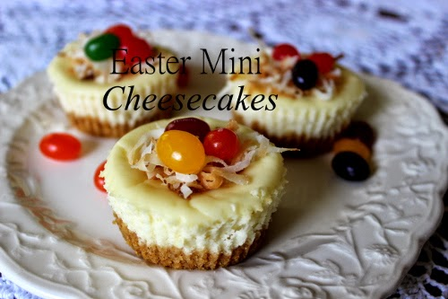 Easter Cheese Cakes
