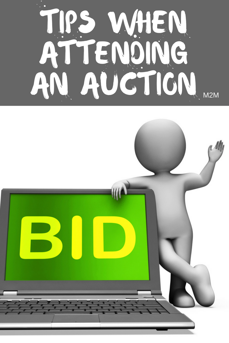 Auction tips archives mother2motherblog for Auction advice
