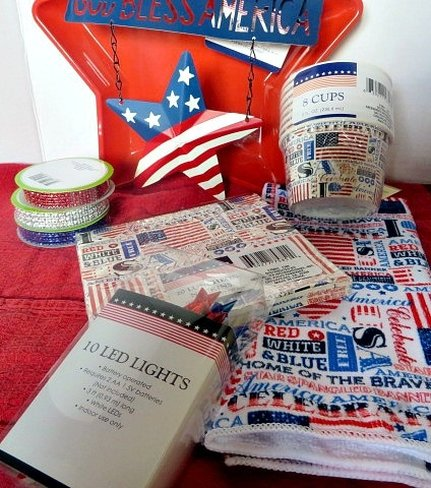 patriotic decorating idea