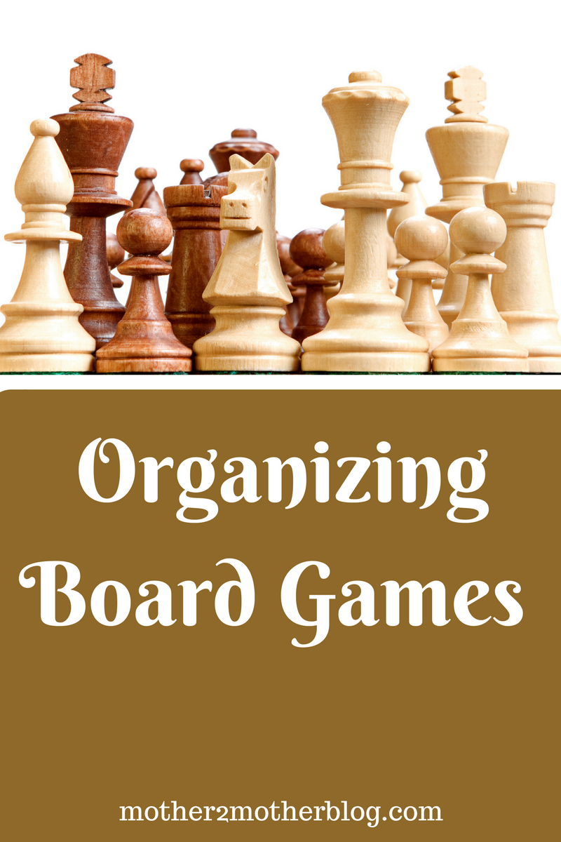 organizing board games