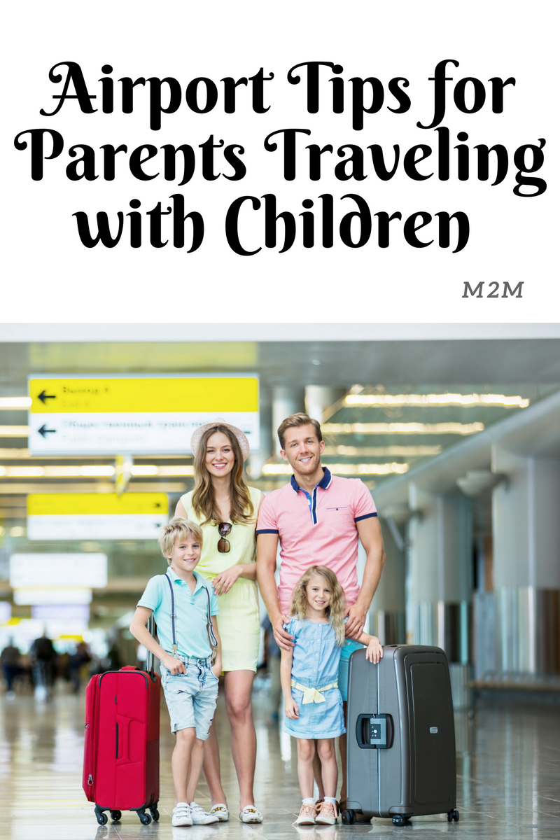 airport tips for parents