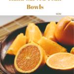 teak bowls