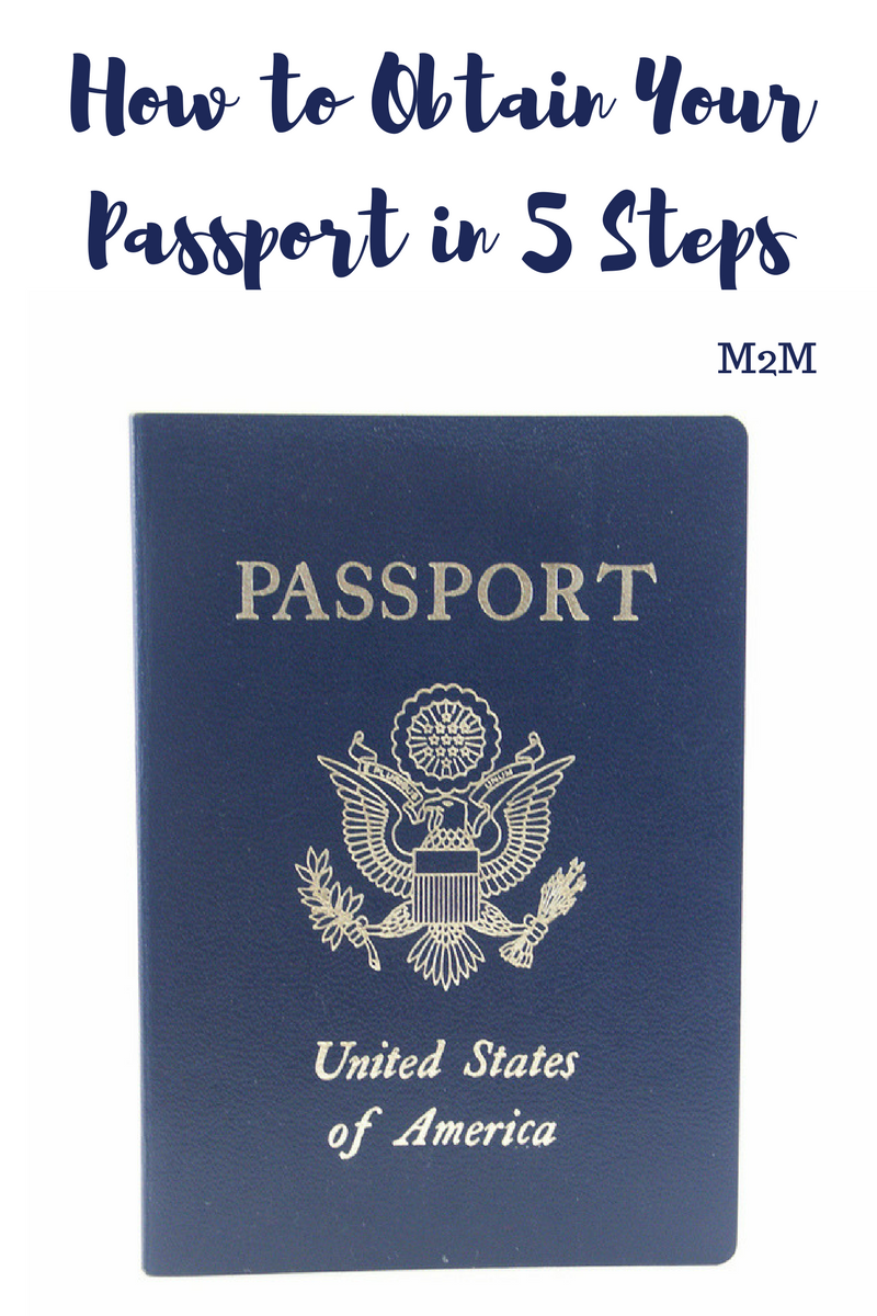 how to obtain your passport