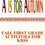 first grade activities