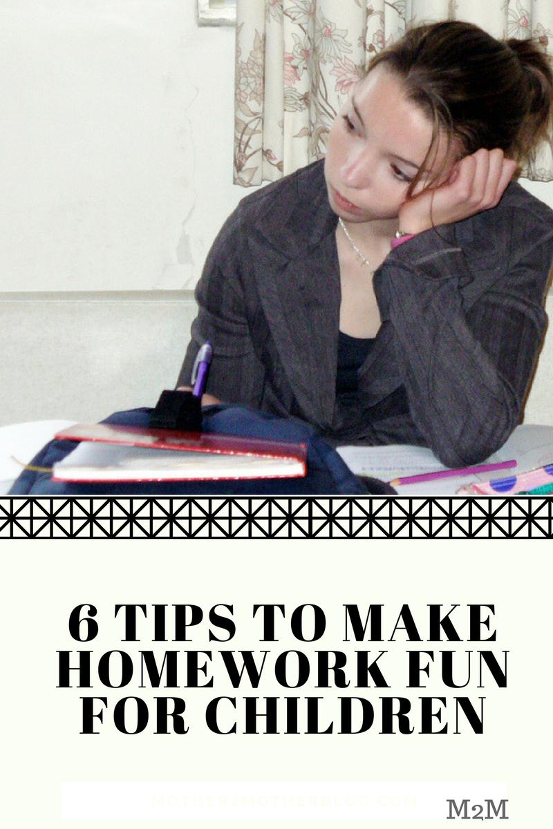 Homework Tips for Children