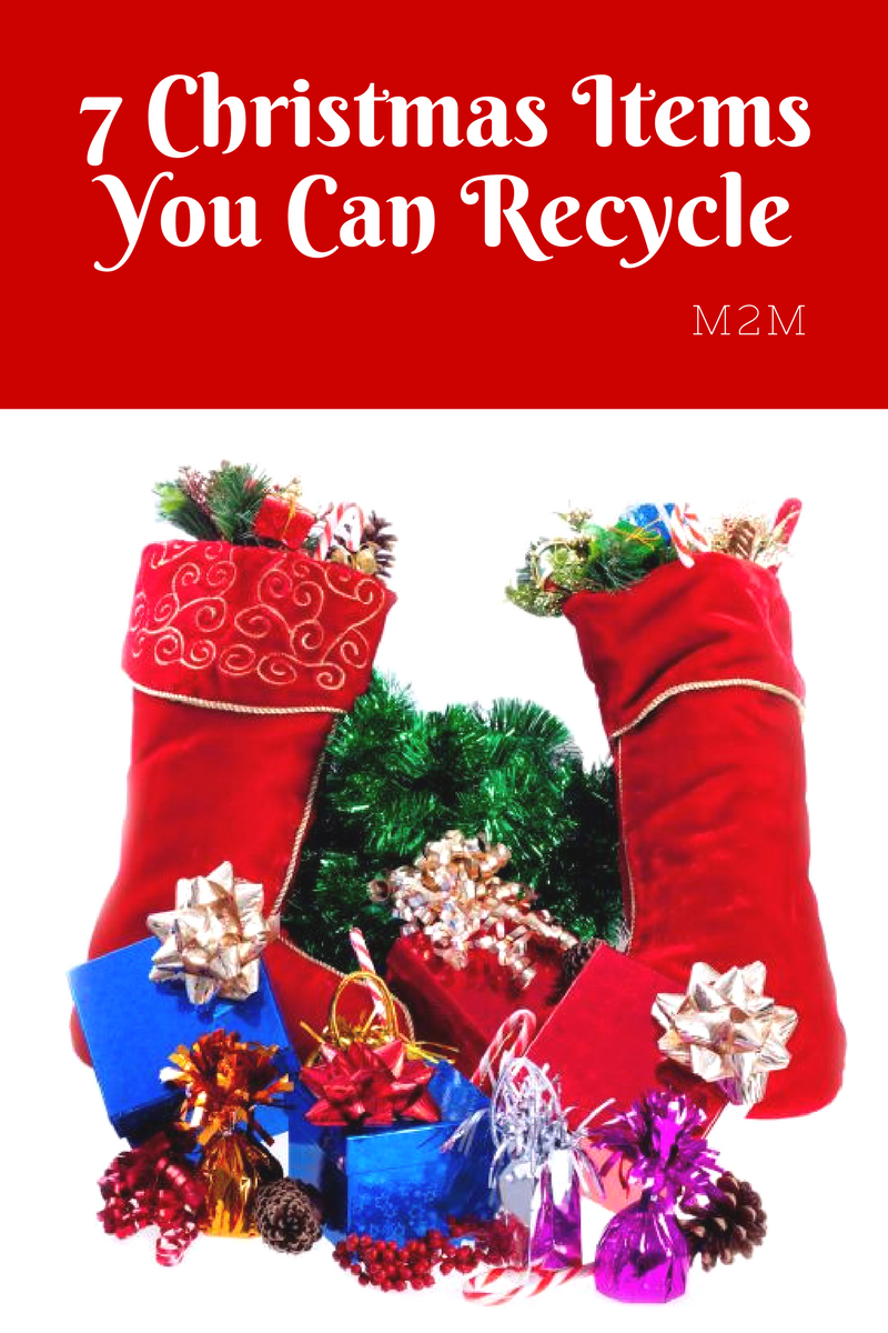 Christmas Items You Can Recycle