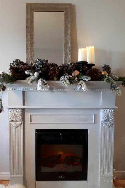 Week 155 - Fireplace Before and After from Fair Meadow Place