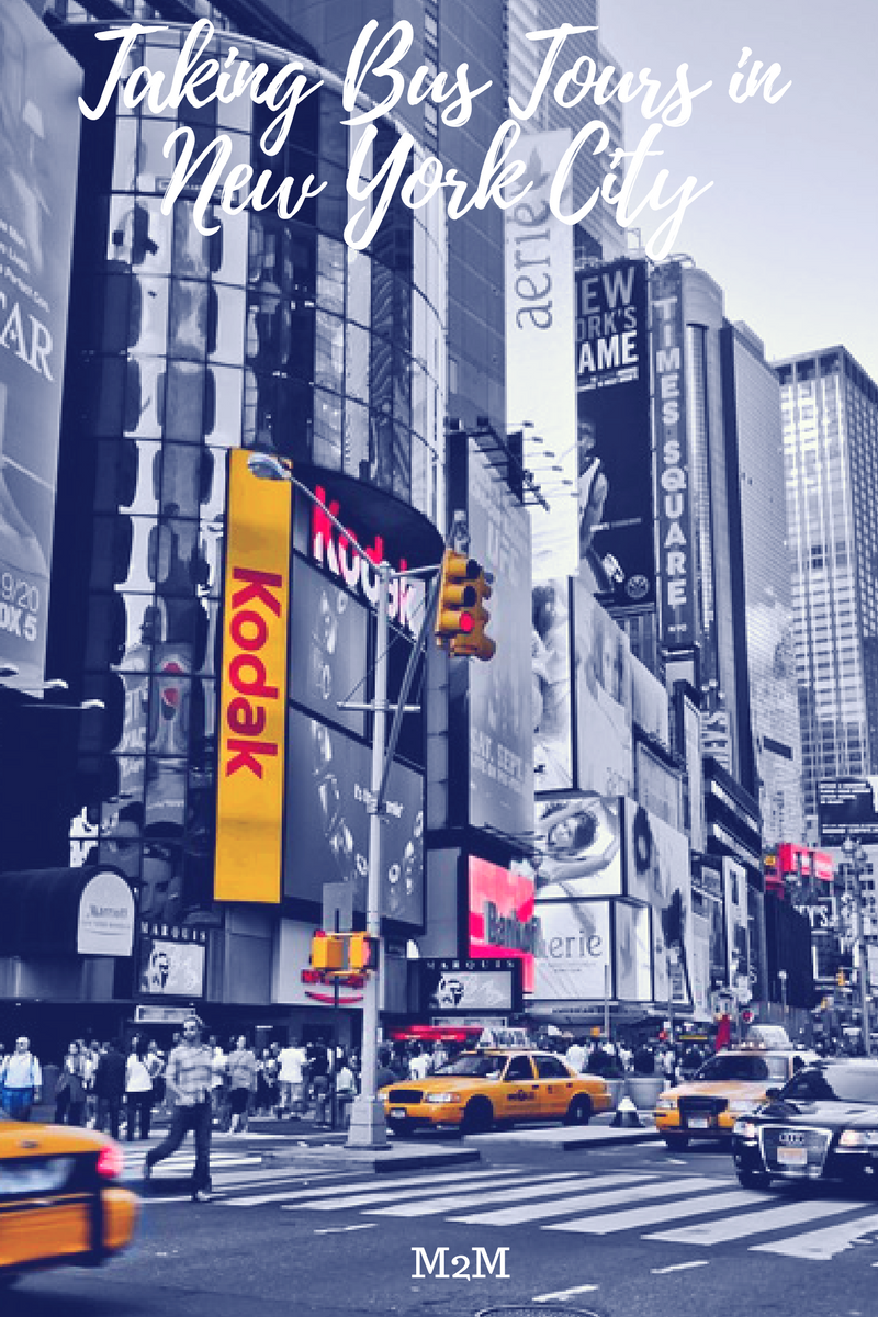 bus tours in New York City