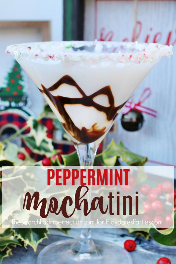 Week 156 Sunday's Best - Peppermint Mochatini Cocktail by Playdates to Parties